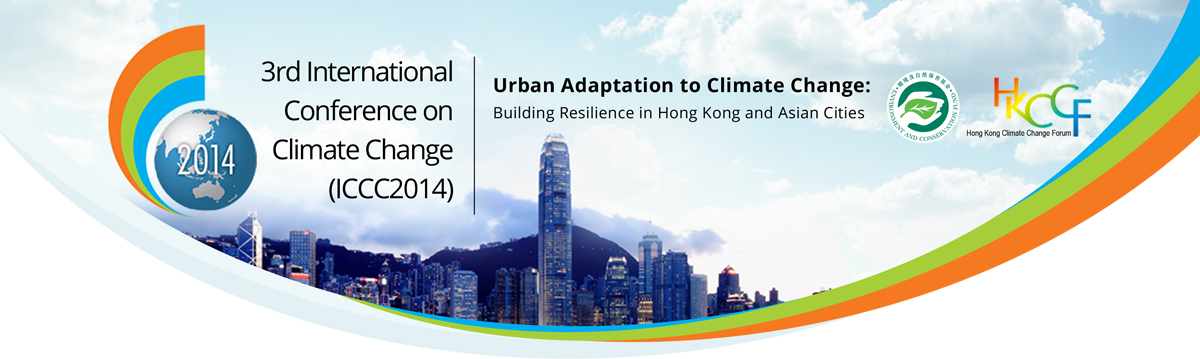Tom Verebes participates in the 3rd International Conference on Climate Change (ICCC2014).