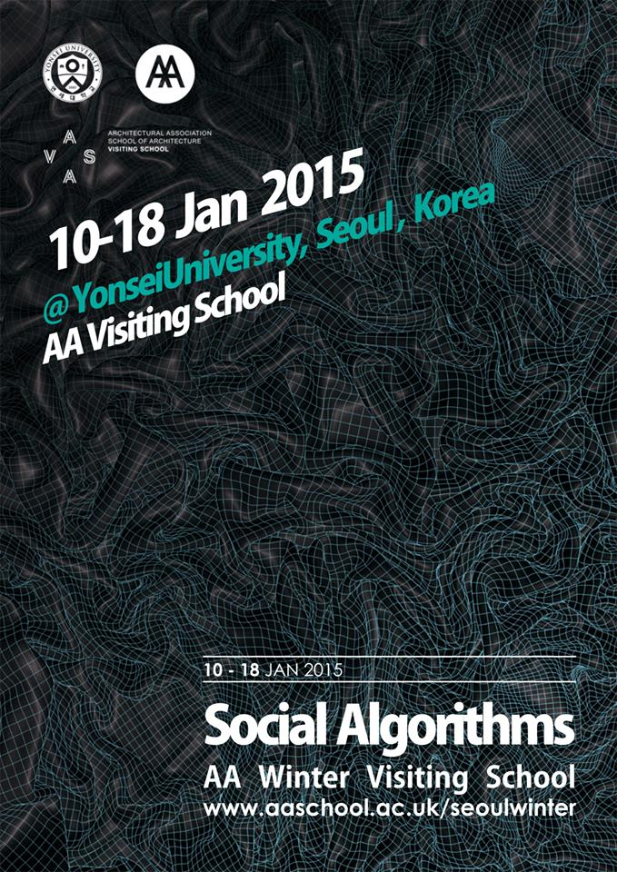 Tom Verebes delivers a keynote lecture at  Yonsei University, Seoul, Korea, as part of AAVS Seoul Winter School