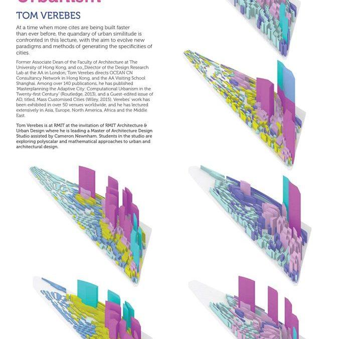 Tom Verebes lecturing at RMIT University, Architecture & Design, Melbourne, Australia
