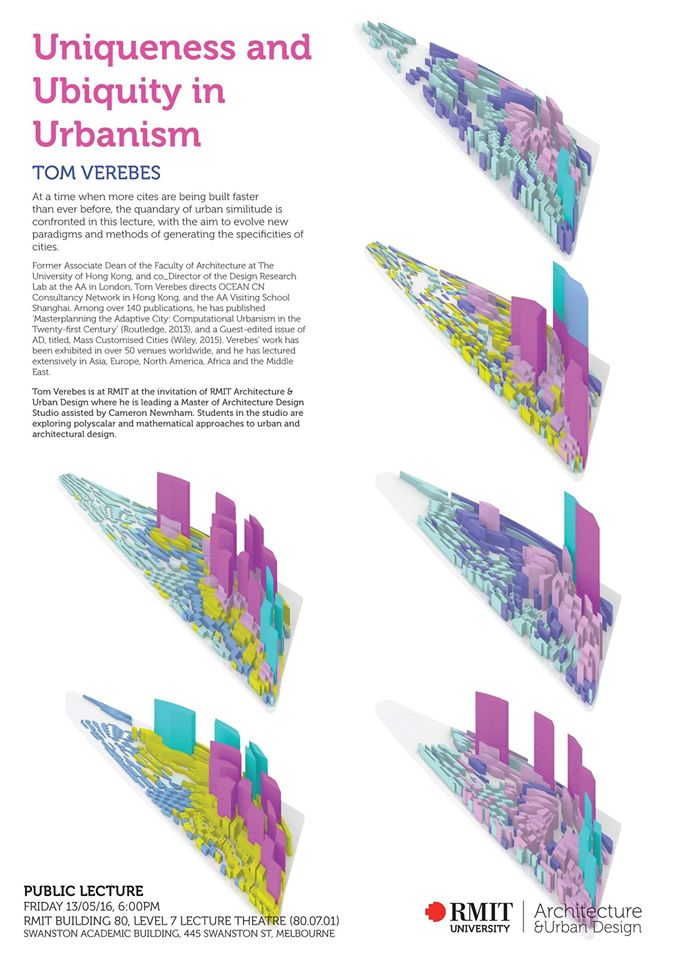 Tom Verebes lecturing at RMIT University, Architecture & Design, Melbourne, Australia